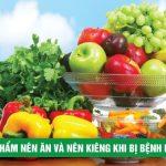 Thực phẩm nên ăn và nên kiêng khi bị bệnh mất ngủ
