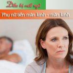 Nguyên nhân gây mất ngủ ở phụ nữ mãn kinh