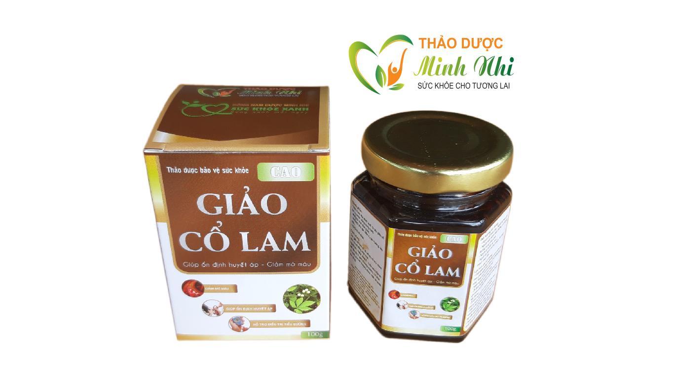 Cao Giảo Cổ Lam | Ổn Định Huyết Áp | Giảm mỡ máu | Hỗ trợ điều trị tiểu đường