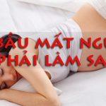 Cách chữa bệnh mất ngủ, khó ngủ, rối loạn giấc ngủ hiệu quả nhất